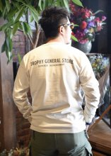 TROPHY CLOTHING - GENERAL LOGO OD L/S TEE (NATURAL)