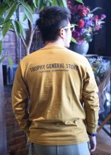TROPHY CLOTHING - GENERAL LOGO OD L/S TEE (MUSTARD)