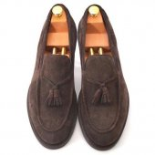 <img class='new_mark_img1' src='https://img.shop-pro.jp/img/new/icons50.gif' style='border:none;display:inline;margin:0px;padding:0px;width:auto;' />BROTHER BRIDGE - MARSHALL ( BROWN SUEDE)