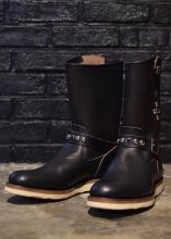 <img class='new_mark_img1' src='https://img.shop-pro.jp/img/new/icons50.gif' style='border:none;display:inline;margin:0px;padding:0px;width:auto;' />EVILACT - MOTORCYCLE BOOTS (CREPE SOLE / STUDS)