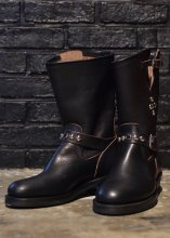 <img class='new_mark_img1' src='https://img.shop-pro.jp/img/new/icons1.gif' style='border:none;display:inline;margin:0px;padding:0px;width:auto;' />EVILACT - MOTORCYCLE BOOTS (Vibram #700 / STUDS)