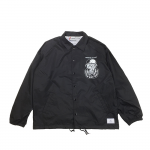 ROUGH AND RUGGED / RR×NUTS COACH JKT (BLACK)