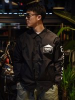 <img class='new_mark_img1' src='https://img.shop-pro.jp/img/new/icons50.gif' style='border:none;display:inline;margin:0px;padding:0px;width:auto;' />HENRY HAUZ / HENRY HAUZ COACH JACKET (BLACK)