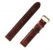 TROPHY CLOTHING - LEATHER STRAP BELT (BROWN)