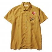 SOFTMACHINE / OUT BLOOM SHIRTS S/S (YELLOW)