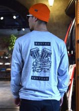 <img class='new_mark_img1' src='https://img.shop-pro.jp/img/new/icons1.gif' style='border:none;display:inline;margin:0px;padding:0px;width:auto;' />DAYTEN CASTING / LOGO L/S POCKET TEE (GRAY)