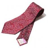 TROPHY CLOTHING - SILK JACQUARD TIE (Burgundy)