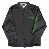 <img class='new_mark_img1' src='https://img.shop-pro.jp/img/new/icons1.gif' style='border:none;display:inline;margin:0px;padding:0px;width:auto;' />GOODSPEED / Official Logo Coach Jacket (BLACK)