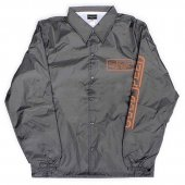 <img class='new_mark_img1' src='https://img.shop-pro.jp/img/new/icons1.gif' style='border:none;display:inline;margin:0px;padding:0px;width:auto;' />GOODSPEED / Official Logo Coach Jacket (CHARCOAL)