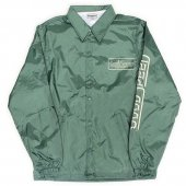 <img class='new_mark_img1' src='https://img.shop-pro.jp/img/new/icons50.gif' style='border:none;display:inline;margin:0px;padding:0px;width:auto;' />GOODSPEED / Official Logo Coach Jacket (DARK GREEN)