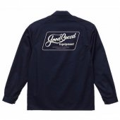 GOODSPEED / Lettering Logo Coverall (DARK NAVY)
