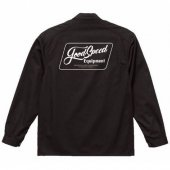 <img class='new_mark_img1' src='https://img.shop-pro.jp/img/new/icons55.gif' style='border:none;display:inline;margin:0px;padding:0px;width:auto;' />GOODSPEED / Lettering Logo Coverall (BLACK)