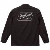 GOODSPEED / Lettering Logo Coverall (BLACK)