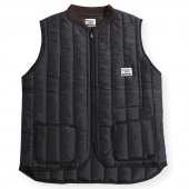 WEST RIDE / WARREN QUILT VEST (BLACK)