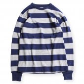 WEST RIDE / HEAVY BORDER LONG TEE (NVY/H.GRY)