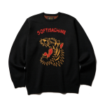 <img class='new_mark_img1' src='https://img.shop-pro.jp/img/new/icons1.gif' style='border:none;display:inline;margin:0px;padding:0px;width:auto;' />SOFTMACHINE / ROAR SWEATER (BLACK)