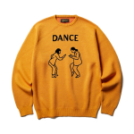 <img class='new_mark_img1' src='https://img.shop-pro.jp/img/new/icons1.gif' style='border:none;display:inline;margin:0px;padding:0px;width:auto;' />SOFTMACHINE / JRS SWEATER (MUSTARD)