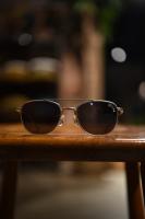 UNCROWD-BRAT(Mat Silver Flame × Smoke Lens)
