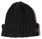 <img class='new_mark_img1' src='https://img.shop-pro.jp/img/new/icons1.gif' style='border:none;display:inline;margin:0px;padding:0px;width:auto;' />TROPHY CLOTHING - LOW GAUGE KNIT CAP (BLACK)