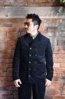 TROPHY CLOTHING - CORD VITO JACKET (BLACK)