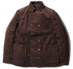 TROPHY CLOTHING - CORD VITO JACKET (BROWN)