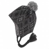 THE H.W. DOG & CO. - MOHAIR KNIT CAP (BLACK)