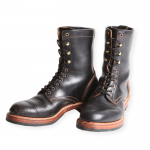 WEST RIDE / LACE UP WORK BOOTS BLK