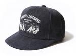 TROPHY CLOTHING - WORKERS LOGO TRACKER CAP (INDIGO)