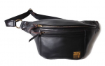 <img class='new_mark_img1' src='https://img.shop-pro.jp/img/new/icons1.gif' style='border:none;display:inline;margin:0px;padding:0px;width:auto;' />TROPHY CLOTHING - HORSEHIDE DAY TRIP BAG (BLACK)