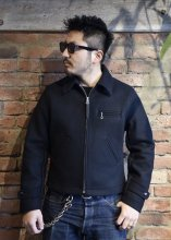 TROPHY CLOTHING - WOOL SPORTS JACKET(BLACK)