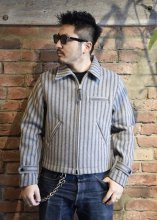 TROPHY CLOTHING - WOOL SPORTS JACKET(GRAY STRIPE)