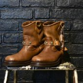 <img class='new_mark_img1' src='https://img.shop-pro.jp/img/new/icons1.gif' style='border:none;display:inline;margin:0px;padding:0px;width:auto;' />IrregulaR by Zip Stevenson / USA BOOTS Shorty Engineer Custom ( TURQUOISE & STUDS TYPE / US8.0 )