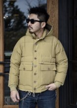 TROPHY CLOTHING - ALPINE DOWN JACKET (BEIGE)