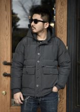 TROPHY CLOTHING - ALPINE DOWN JACKET (CHARCOAL)