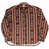 <img class='new_mark_img1' src='https://img.shop-pro.jp/img/new/icons50.gif' style='border:none;display:inline;margin:0px;padding:0px;width:auto;' />NITEKLUB&CO. / N Printed Flannel Shirt (Brown)
