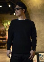 <img class='new_mark_img1' src='https://img.shop-pro.jp/img/new/icons50.gif' style='border:none;display:inline;margin:0px;padding:0px;width:auto;' />STEVENSON OVERALL Co. / Wool Thermal Long Sleeve (Black)