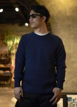 STEVENSON OVERALL Co. / Wool Thermal Long Sleeve (NAVY)