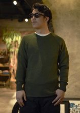 <img class='new_mark_img1' src='https://img.shop-pro.jp/img/new/icons50.gif' style='border:none;display:inline;margin:0px;padding:0px;width:auto;' />STEVENSON OVERALL Co. / Wool Thermal Long Sleeve (OLIVE)