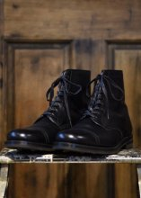 ROUGH AND RUGGED / MIL 8HOLE BOOTS (BLACK)
