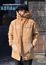 <img class='new_mark_img1' src='https://img.shop-pro.jp/img/new/icons1.gif' style='border:none;display:inline;margin:0px;padding:0px;width:auto;' />PANTYDROPPER - CARHARTT HOODIE COAT JKT 2 (BROWN)