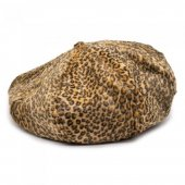 THE H.W. DOG & CO. - 8PANEL BERET (LEOPARD)