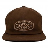 <img class='new_mark_img1' src='https://img.shop-pro.jp/img/new/icons55.gif' style='border:none;display:inline;margin:0px;padding:0px;width:auto;' />THE H.W. DOG & CO. - TRUCKER CAP (BROWN)