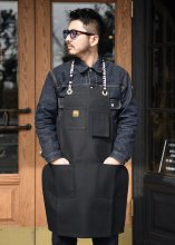 <img class='new_mark_img1' src='https://img.shop-pro.jp/img/new/icons1.gif' style='border:none;display:inline;margin:0px;padding:0px;width:auto;' />TROPHY CLOTHING - ENGINEER WORK APRON (BLACK)