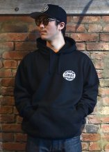 <img class='new_mark_img1' src='https://img.shop-pro.jp/img/new/icons1.gif' style='border:none;display:inline;margin:0px;padding:0px;width:auto;' />CANVAS - STANDARD LOGO PULLOVER HOODIE (BLACK)