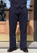 <img class='new_mark_img1' src='https://img.shop-pro.jp/img/new/icons1.gif' style='border:none;display:inline;margin:0px;padding:0px;width:auto;' />TROPHY CLOTHING - MODERN TIMES TROUSERS (STRIPE)
