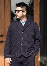 TROPHY CLOTHING - MODERN TIMES JACKET (STRIPE)