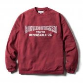 <img class='new_mark_img1' src='https://img.shop-pro.jp/img/new/icons1.gif' style='border:none;display:inline;margin:0px;padding:0px;width:auto;' />ROUGH AND RUGGED / CHAMP CREW (BURGUNDY)