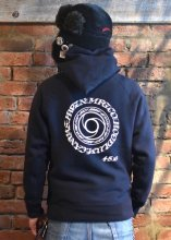 <img class='new_mark_img1' src='https://img.shop-pro.jp/img/new/icons1.gif' style='border:none;display:inline;margin:0px;padding:0px;width:auto;' />HWZN x HOODLUM x CANVAS - 45 MF PULLOVER HOODED (NAVY)