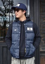 <img class='new_mark_img1' src='https://img.shop-pro.jp/img/new/icons1.gif' style='border:none;display:inline;margin:0px;padding:0px;width:auto;' />ROUGH AND RUGGED x CANVAS / RAR x CVS MOTOR VEST (NAVY)