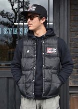 <img class='new_mark_img1' src='https://img.shop-pro.jp/img/new/icons1.gif' style='border:none;display:inline;margin:0px;padding:0px;width:auto;' />ROUGH AND RUGGED x CANVAS / RAR x CVS MOTOR VEST (BLACK)